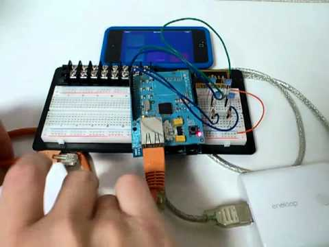 TouchOSC Android Processing Arduino Keyboard