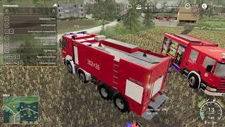 Farming Simulator 19 osp swojska #5 polskie wozy strażackie !!!czytaj opis!!!