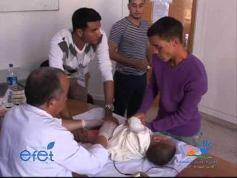Ecole Efet Agadir Organise La 7eme Opération De Circoncision 2013 مدرسة افيت تنظم الدورة 7 للإعدار video