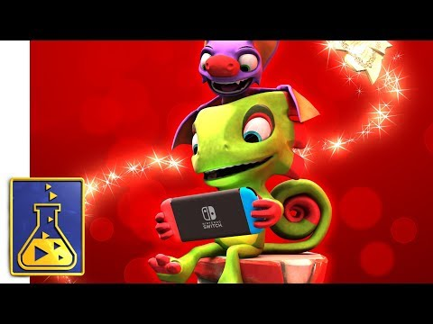 Yooka-Laylee comes to Nintendo Switch Dec 14!