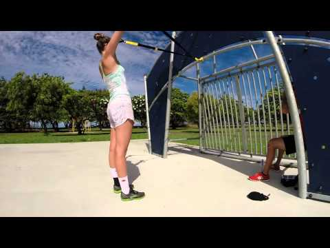 GoPro 3+ | Emma's TRX Row Complex | Changing your vector