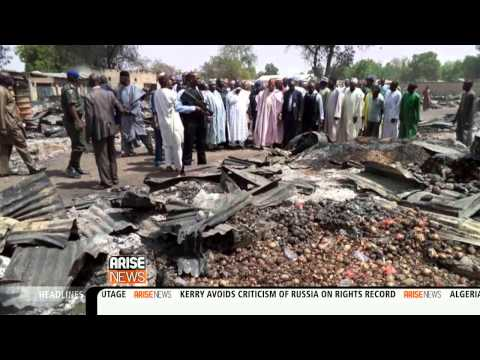 55 people dead in Bama, Northern Nigeria