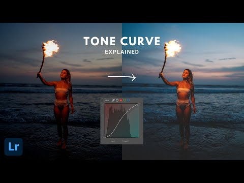 How to use the tone curve in Adobe Lightroom!