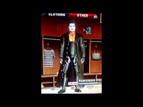 Sting Smackdown! vs Raw 2010 caw PS3