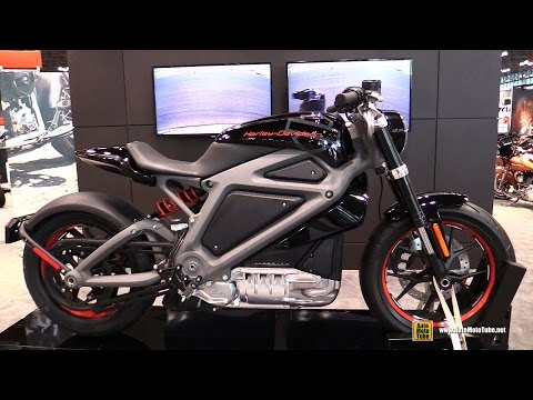 2015 Harley-Davidson LiveWire Electric Bike - Walkaround - 2014 New York Motorcycle Show