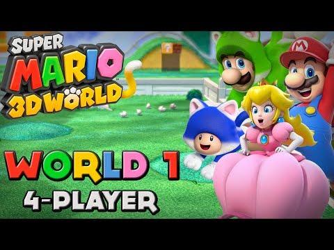Super Mario 3D World - World 1 (4-Player)
