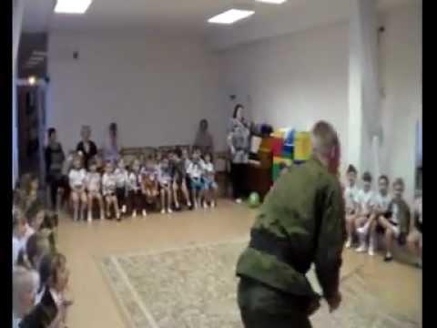 Солдаты в детском саду - День защитника Отечества