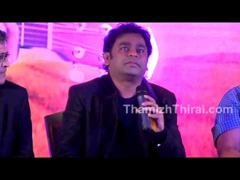 AR Rahman - Thai Manne Vanakkam Press Meet - Q & A Session