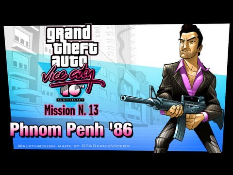 GTA Vice City - iPad Walkthrough - Mission #13 - Phnom Penh '86