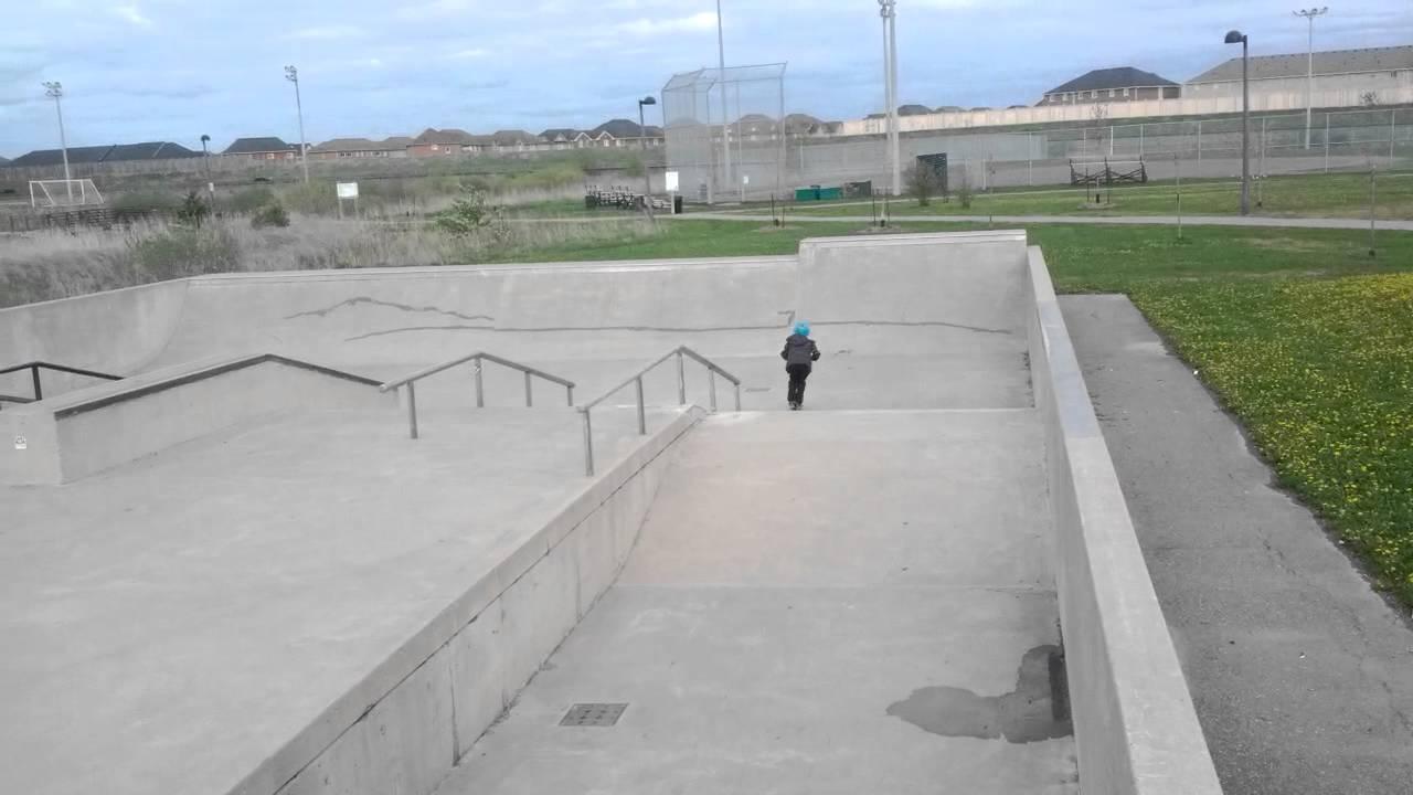 Milton Ontario Skatepark Daddios Skatepark Tour Milton