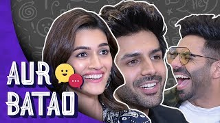Kartik Aryan talks about Sara Ali Khan, relationship status || LUKA CHUPPI INTERVIEW
