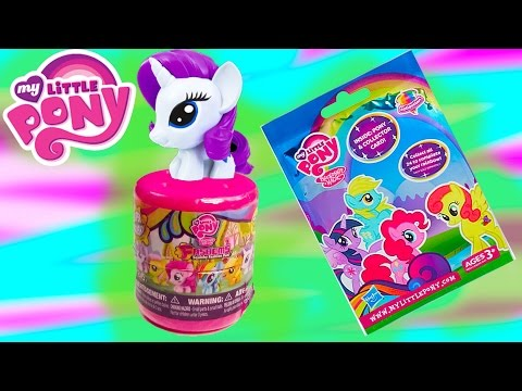 My Little Pony Fashems Mystery Surprise Blind Bag MLP Opening Review Squishy Stretchy Cookieswirlc