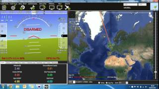 Mission Planner Crash - Bug Fix Video for Michael Oborne Only