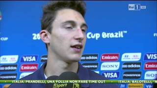 Intervista a DARMIAN  ITALIA 2-1 Inghilterra  All Goals & Highlights Brazil World Cup 2014 HD