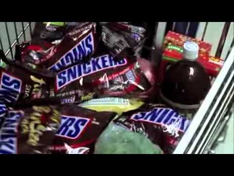 Snickers Halloween Commercial - Grocery Store lady