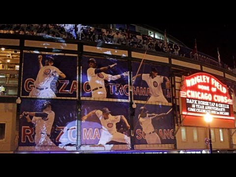 Kanye West new Slaves  Wrigley Field video