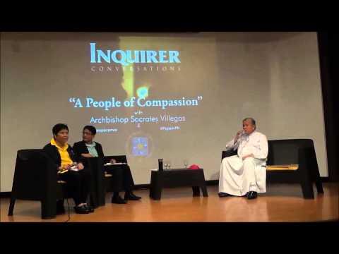 Inquirer Conversation with Archbishop Soc Villegas