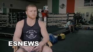 Canelo Feels Great Heading Into Rocky Fielding Fight EsNews Boxing
