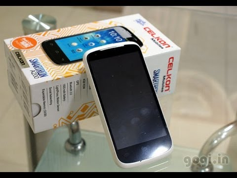 Celkon A200 review and unboxing - low cost dual core handset