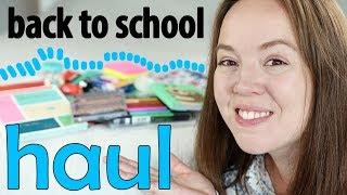 Skolstart HAUL   back to school #1
