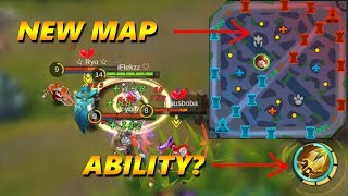 FANNY ON NEW MAP! - ABILITY UPDATE - MOBILE LEGENDS GAMEPLAY