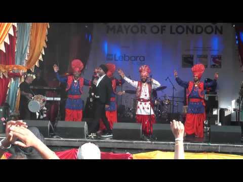 Punjabi Bhangra Music Dance At Vaisakhi Trafalgar Sq London video