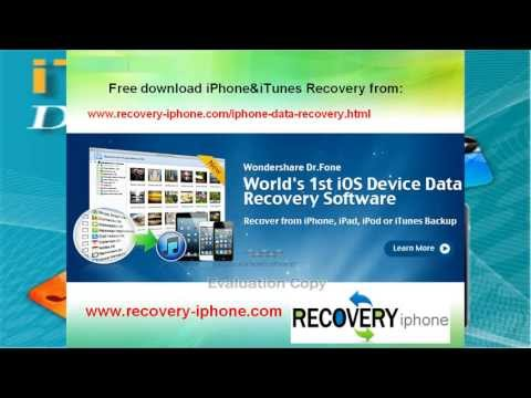 How to Recover iPhone Lost Photo Video Contact SMS Notes from iPhone 5/4S/4?