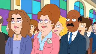 American Dad Funny Moment   Stan destroy Lewis wedding