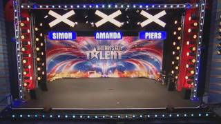 Britains Got Talent 2009 Episode 2 - Darth Jackson HD PURE EXPERIENCE - AMAZING