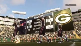 Madden NFL 19 H2H Patriots vs Packers shit happens