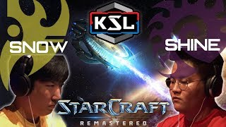 KOREAN STARCRAFT LEAGUE: SHINE vs SNOW (ZvP)