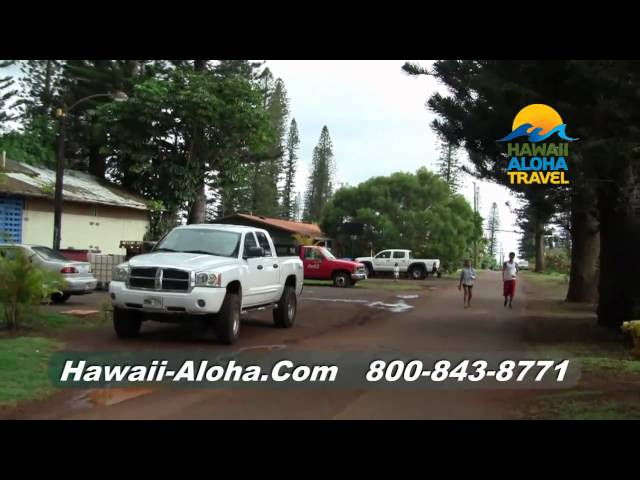 Hawaii Vacation Connection - Exploring Lanai CIty - Hawaii