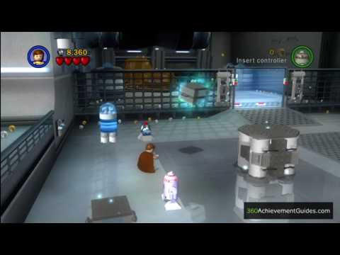 LEGO Star Wars: TCS - Minikit Guide - Episode I: Negotiations