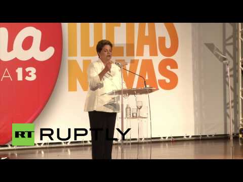 Brazil: Dilma Rousseff claims first round election victory