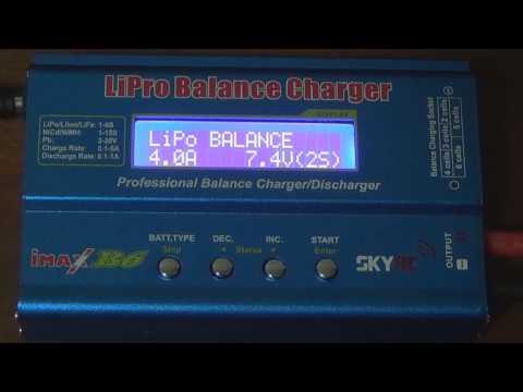 Como carregar bateria LIPO e usar um carregador inteligente - How to use a Smart Charger