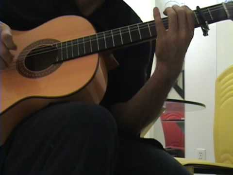 Spanish Guitar Solo-Tribute To Carlos Montoya