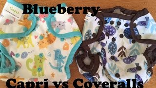Blueberry Capri vs Blueberry Coveralls