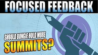 Destiny 2 | Should Bungie Hold More Community Feedback Summits?