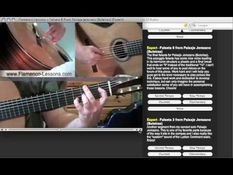 Flamenco-Lessons.com - Flamenco Guitar Lessons Part 2