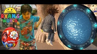 I MAILED MYSELF TO RYAN TOYSREVIEW and it worked ! Through ancient egyptian Stargate