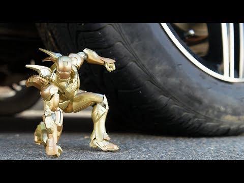 CAR VS IRON MAN 5