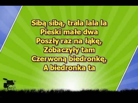 Dla Dzieci   Pieski Małe Dwa   Na Gitarze ( Www.letsing.pl )