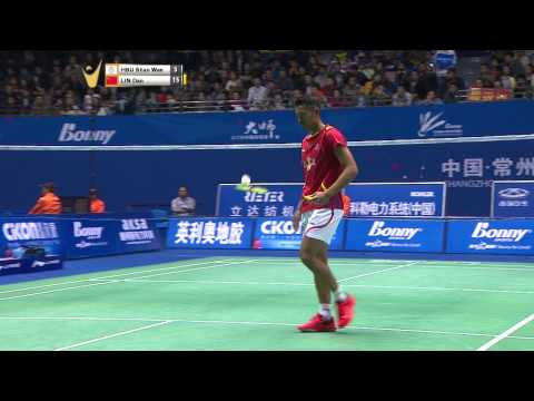 [HD] R16 - MS - Lin Dan vs Hsu Shao Wen - 2014 China Masters Grand Prix Gold
