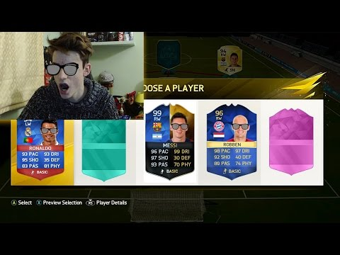 NO LOOK DRAFT CHALLENGE!!! FUT DRAFT CHALLENGE - FIFA 16 ULTIMATE TEAM ITA