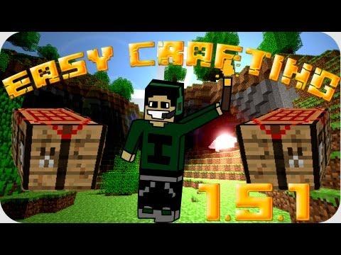 [1.5.2] EASY CRAFTING minecraft !! todos los crafteos al alcance