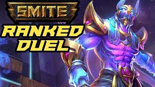 SCUFFED GAMEPLAY (Anubis vs Nemesis) - Smite S6 Ranked Duel Ep.39