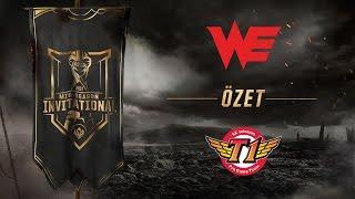 Team WE ( WE ) vs SK telecom T1 ( SKT ) Maç Özeti | MSI 2017 Grup Aşaması 2. Gün