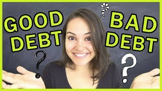 Good Debt Versus Bad Debt - What's The Difference??!