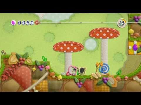 Kirby's Epic Yarn on Dolphin Emulator (720p)