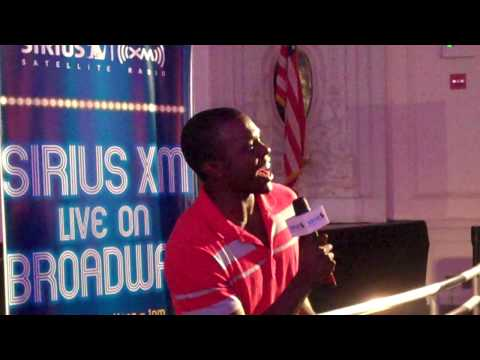 Joshua Henry - What Would I Do If I Could Feel? - The Wiz - Sirius XM Live On Broadway